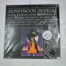 Discos de vinilo: HONEYMOON IN LAS VEGAS. LP. B.S.O. ELVIS PRESLEY HITS. TDKDA27. Lote 124574707