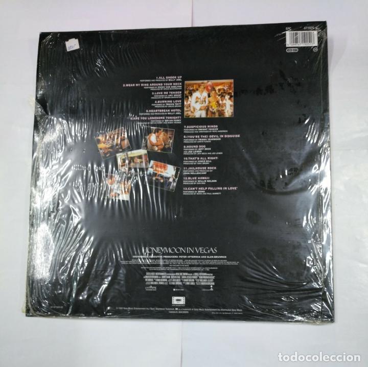 Discos de vinilo: HONEYMOON IN LAS VEGAS. LP. B.S.O. ELVIS PRESLEY HITS. TDKDA27 - Foto 2 - 124574707