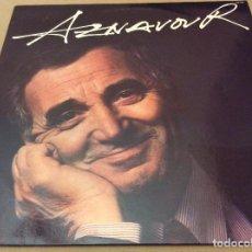 Discos de vinilo: CHARLES AZNAVOUR. AZNAVOUR 1987.. Lote 124575123