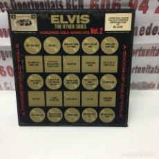 Discos de vinilo: ELVIS THE OTHER SIDES. Lote 124584270