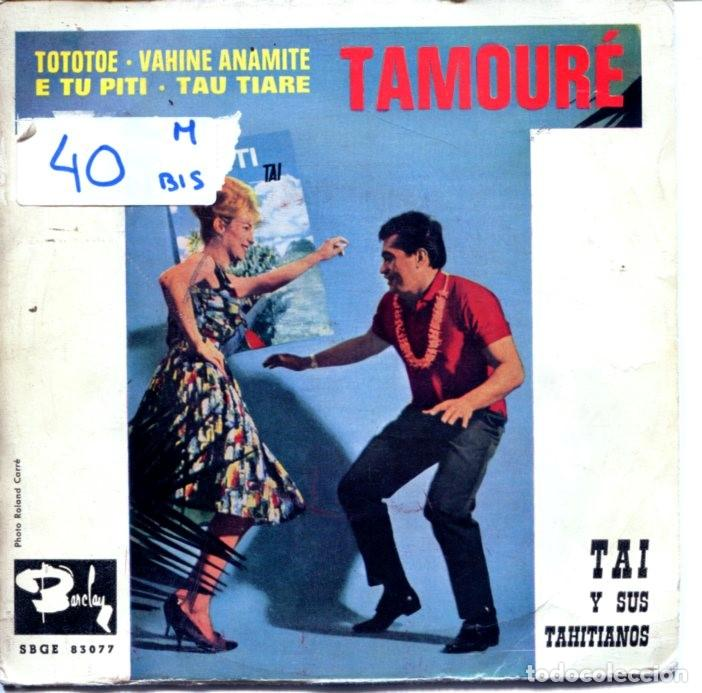 TAI Y SUS TAHITIANOS (TAMOURE) / TOTOTOE + 3 (EP 1963) (Música - Discos de Vinilo - EPs - Étnicas y Músicas del Mundo)