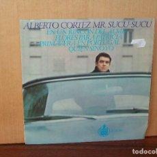 Discos de vinilo: ALBERTO CORTEZ - MR. SUCU SUCU - EN UN RINCON DEL ALMA + 3 CANCIONES -EP. Lote 124596447