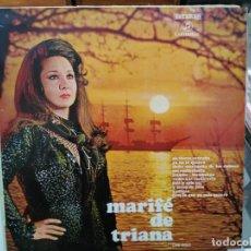 Discos de vinilo: MARIFÉ DE TRIANA - EN TIERRA EXTRAÑA, A CIEGAS, Y ESTOY DE LUTO, ... - LP. DEL SELLO COLUMBIA 1970. Lote 124603055