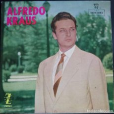 Discos de vinilo: ALFREDO KRAUS - GRANADA + 3 -- EP MONTILLA-ZAFIRO, 1959. ESPAÑA. Lote 124614775