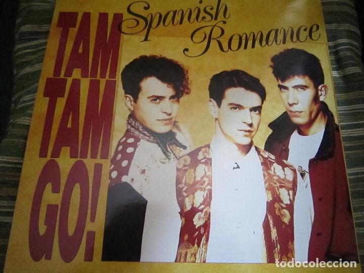 TAM TAM GO - SPANISH ROMANCE LP - ORIGINAL ESPAÑOL - EMI RECORDS 1989 - CON ENCARTE ORIGINAL (Música - Discos - LP Vinilo - Grupos Españoles de los 70 y 80)