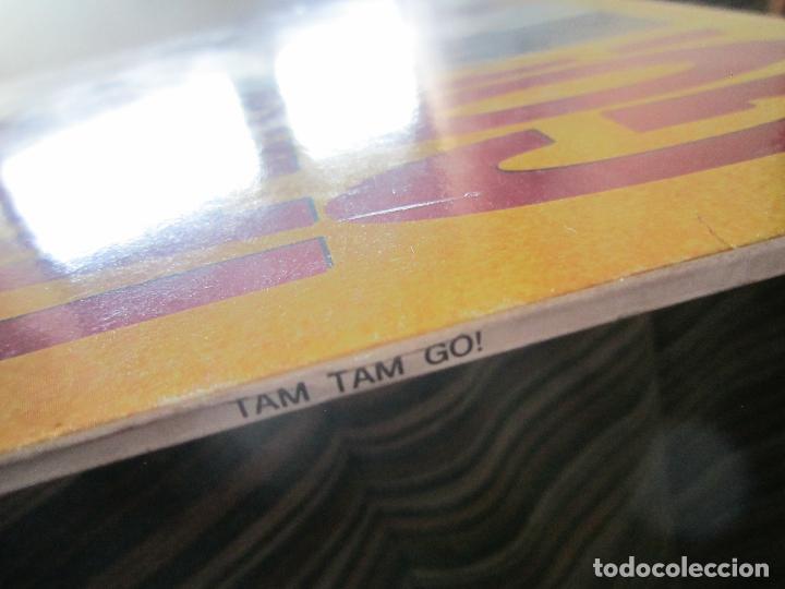 Discos de vinilo: TAM TAM GO - SPANISH ROMANCE LP - ORIGINAL ESPAÑOL - EMI RECORDS 1989 - CON ENCARTE ORIGINAL - Foto 7 - 124616087