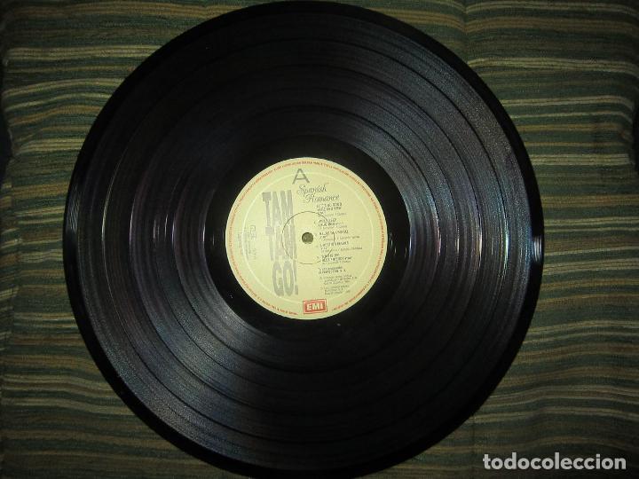 Discos de vinilo: TAM TAM GO - SPANISH ROMANCE LP - ORIGINAL ESPAÑOL - EMI RECORDS 1989 - CON ENCARTE ORIGINAL - Foto 10 - 124616087