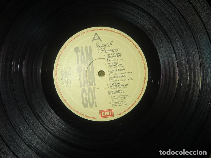 Discos de vinilo: TAM TAM GO - SPANISH ROMANCE LP - ORIGINAL ESPAÑOL - EMI RECORDS 1989 - CON ENCARTE ORIGINAL - Foto 11 - 124616087