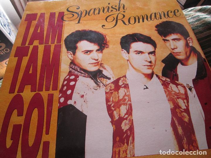 Discos de vinilo: TAM TAM GO - SPANISH ROMANCE LP - ORIGINAL ESPAÑOL - EMI RECORDS 1989 - CON ENCARTE ORIGINAL - Foto 13 - 124616087
