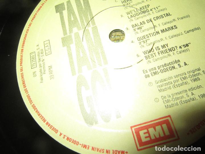 Discos de vinilo: TAM TAM GO - SPANISH ROMANCE LP - ORIGINAL ESPAÑOL - EMI RECORDS 1989 - CON ENCARTE ORIGINAL - Foto 15 - 124616087