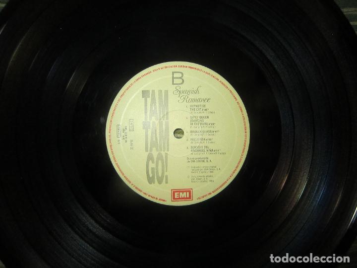 Discos de vinilo: TAM TAM GO - SPANISH ROMANCE LP - ORIGINAL ESPAÑOL - EMI RECORDS 1989 - CON ENCARTE ORIGINAL - Foto 16 - 124616087