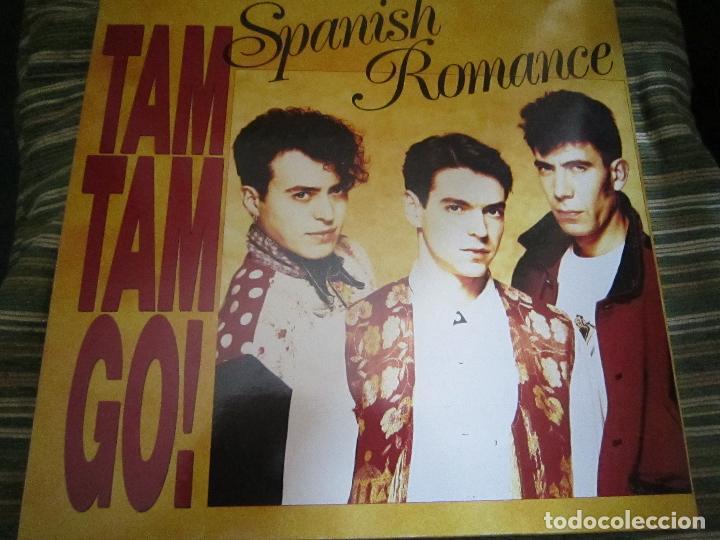 Discos de vinilo: TAM TAM GO - SPANISH ROMANCE LP - ORIGINAL ESPAÑOL - EMI RECORDS 1989 - CON ENCARTE ORIGINAL - Foto 20 - 124616087
