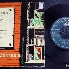 Discos de vinilo: PIERRE SPIERS Y SU CONJUNTO - EP LA VOZ DE SU AMO, ESPAÑA,. Lote 124620511