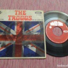 Discos de vinilo: THE TROGGS - EASY LOVING / GIVE ME SOMETHING. Lote 124622907