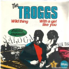Discos de vinilo: SG THE TROGGS : WILD THING . Lote 124623603