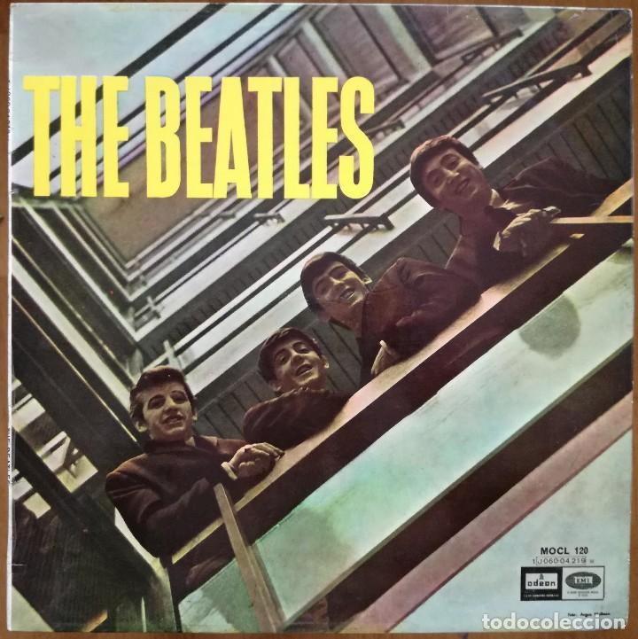 THE BEATLES -PLEASE PLEASE ME -LP SPAIN MONO VERSION 60'S DOBLE REFERENCIA