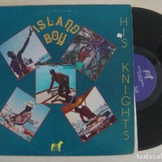 Discos de vinilo: KING ERIC & HIS KNIGHTS - ISLAND BOY - LP LAS BAHAMAS - ELITE. Lote 124653679