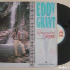 Discos de vinilo: EDDY GRANT - ROMANCING THE STONE - MAXISINGLE 45 - 1984 - ICE. Lote 124655887