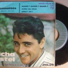 Discos de vinilo: SACHA DISTEL - OUAH OUAH OUAH - EP FRANCES - PHILIPS. Lote 124656079