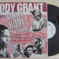 Discos de vinilo: EDDY GRANT - GIMME HOPE JOANNA - MAXISINGLE 45 - ESPAÑOL 1988 - HISPAVOX. Lote 124656243