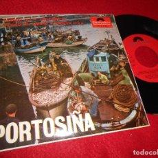 Dischi in vinile: EMILIO CORRAL+CORO CANTIGAS TERRA PORTOSIÑA/MUÑEIRA +2 EP 1966 POLYDOR GALIZA GALICIA EXCELENTE. Lote 124656967