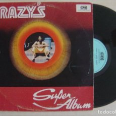 Discos de vinilo: CRAZY - CRAZY'S SUPER ALBUM - LP DE BARBADOS 1978 - CRAZY MUSIC. Lote 124657079