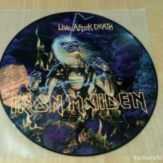 Discos de vinilo: IRON MAIDEN - LIVE AFTER DEATH (LP PICTURE) NUEVO. Lote 124660207