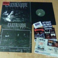 Discos de vinilo: TARNKAPPE - TUSSEN HUN EN DE ZON (LP 2014, HAMMERHEART HHR 2014-33, CON ENCARTE + PEGATINA) NUEVO. Lote 124661215