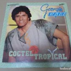 Discos de vinilo: GEORGIE DANN (MX) COCKTEL TROPICAL +1 TRACK AÑO 1984. Lote 124667911