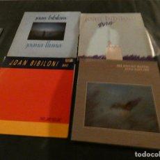 Discos de vinilo: ESCANDALOSO Y DEMENCIAL LOTE DE 4 LPS DE JOAN BIBILONI, PORTADAS MUY BIEN DISCOS MUY BIEN. Lote 124675859