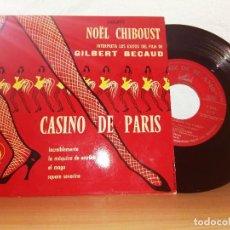 Discos de vinilo: - GILBERT BÉCAUD CASINO DE PARIS. Lote 124685139