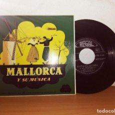 Discos de vinilo: MALLORCA Y SU MÚSICA DANSAORS DE LA CALLE D'OR. Lote 124685195