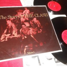 Discos de vinilo: THE CLASH THE STORY OF THE CLASH VOLUME 1 2LP 1988 CBS SONY 460244 1 EDICION ESPAÑOLA SPAIN. Lote 124685747