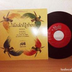 Discos de vinilo: MADO ROBIN, SOPRANO, ÇHIRIBIRIBIN. Lote 124686627