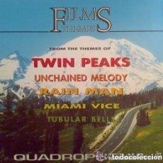 Discos de vinilo: QUADROPHENIA - FILMS THEMES - LP KONGA MUSIC SPAIN 1991. Lote 124702571