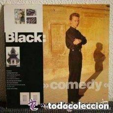 Discos de vinilo: BLACK COMEDY LP AM RECORDS 1988. Lote 133798161