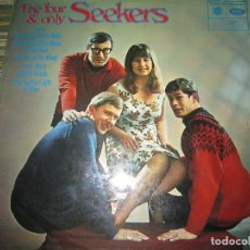Discos de vinilo: THE FOUR & ONLY SEEKERS - HIDE AND SEEKERS LP - EDICION INGLESA MFP / EMI RECORDS 1964 - STEREO -. Lote 124733611