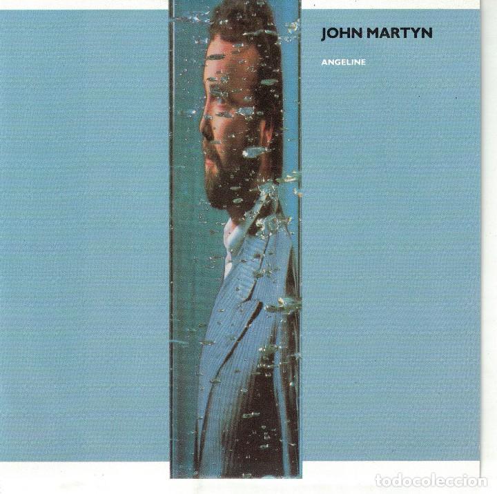 JOHN MARTYN - ANGELINE / TIGHT CONNECTION TO MY HEART (SINGLE PROMO ESPAÑOL, ISLAND 1986) (Música - Discos - Singles Vinilo - Pop - Rock - Extranjero de los 70)