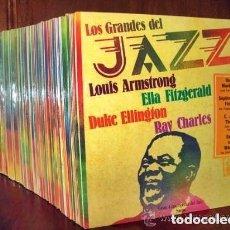 Discos de vinilo: LOS GRANDES DEL JAZZ / COLECCION 100 LPS. Lote 124761151
