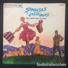 Dischi in vinile: SONRISAS Y LÁGRIMAS - BANDA SONORA ORIGINAL EN CASTELLANO. Lote 124766159