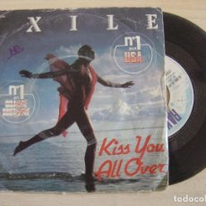 Discos de vinilo: EXILE - KISS YOU ALL OVER + THERE'S BEEN A CHANGE - SINGLE FRANCES 1978 - RAK. Lote 124826911
