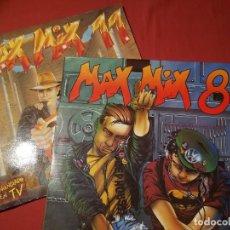 Discos de vinilo: MÁX MIX 8 Y MÁX MIX 11. Lote 124889827
