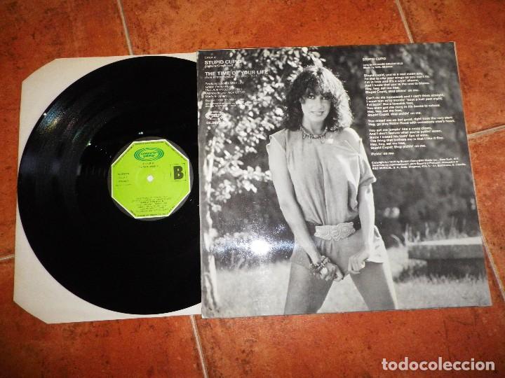 Discos de vinilo: MARIA MENDIOLA Stupid cupid / The time of your life MAXI SINGLE VINILO DEL AÑO 1983 2 TEMAS BACCARA - Foto 2 - 171213389