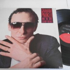 Discos de vinilo: GRAHAM PARKER AND THE SHOT-LP STEADY NERVES-USA 1985. Lote 124904071
