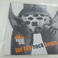 Discos de vinilo: EL SUEÑO AZUL-LET THE ROCJ BEGIN + 3 -EP-FALCATRUADA-VINILO COLOR AMARILLO-N. Lote 124919303