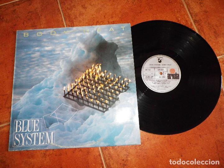 BLUE SYSTEM BODY HEAT LP VINILO DEL AÑO 1988 ESPAÑA MODERN TALKING 10 TEMAS DIETER BOHLEN RARO (Música - Discos - LP Vinilo - Pop - Rock Extranjero de los 90 a la actualidad)