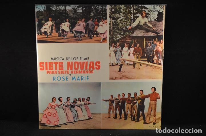 BANDA SONORA ORIGINAL DE LA PELICULA SIETE NOVIAS PARA SIETE HERMANOS - 2 LP (Música - Discos - LP Vinilo - Bandas Sonoras y Música de Actores )