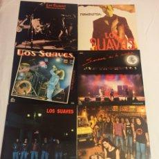 Discos de vinilo: MAGNIFICO LOTE LOS SUAVES - 7 LP. Lote 124657430