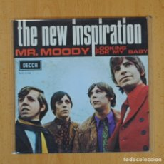 Discos de vinilo: THE NEW INSPIRATION - MR. MOODY / LOOKING FOR MY BABY - SINGLE. Lote 124940896