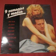 Discos de vinilo: 9 SEMANAS Y MEDIA,, 1986..VARIOS,,. Lote 124872583